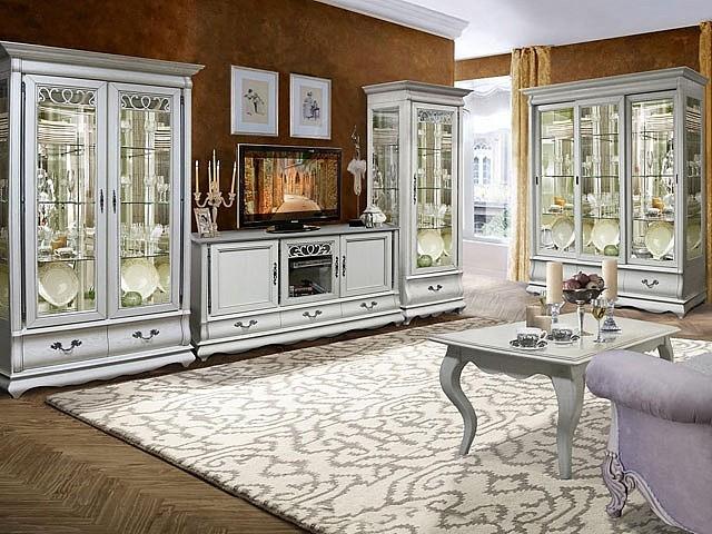 мебель для гостиной Оскар белого цвета