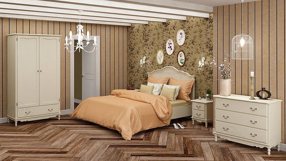 Спальня белый воск Верден