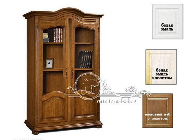 Давиль 1240 шкаф для книг ММ-126-16